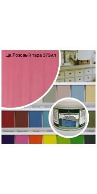 Краска водная SHABBY Provence (тара 375мл) цв. Розовый