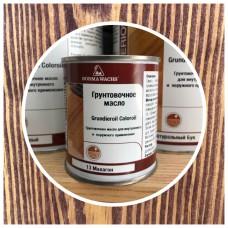 Масло-грунт  Grundierol Color Oil цветное (тара 125мл) цв. Махагон