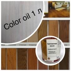 Масло-грунт Grundierol Color Oil (тара 1л) цв. Белый