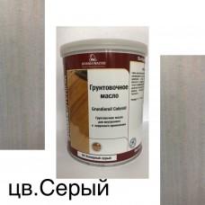 Масло-грунт  Grundierol Color Oil цветное (тара 5л) цв. Серый