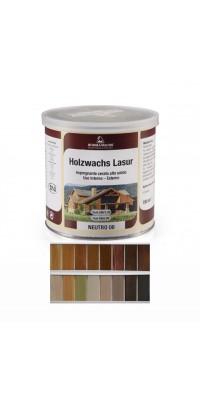 Восковая лазурь HOLZWACHS LASUR (125мл) цветная
