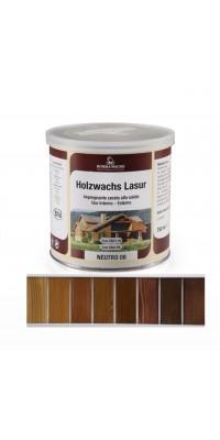 Восковая лазурь HOLZWACHS LASUR (5л) цветная