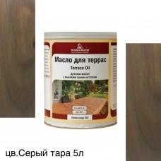 Масло для террас TERRACE OIL (тара 5л) цв. Серый