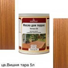 Масло для террас TERRACE OIL (тара 5л) цв. Вишня