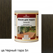 Масло для террас TERRACE OIL (тара 5л) цв. Черный