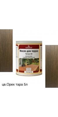 Масло для террас TERRACE OIL (тара 5л) цв. Орех