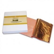 Имитация бронзового листа