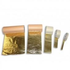 Имитация золотого листа в рулонах