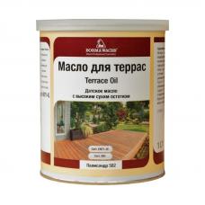 Масло для террас TERRACE OIL (тара 1л) цв. Прозрачный